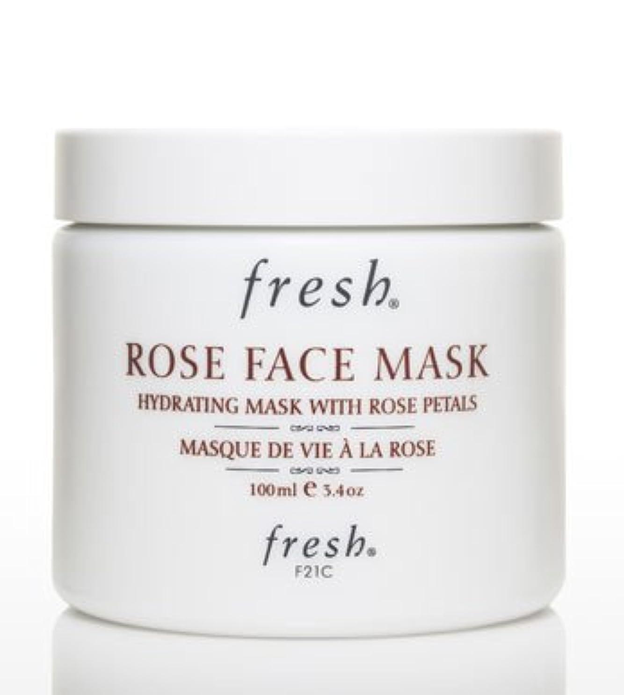 操作可能浜辺壊れたFresh ROSE FACE MASK (フレッシュ ローズフェイスマスク) 3.4 oz (100g) by Fresh for Women