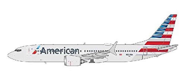 GeminiJets 1/400 737 MAX8 アメリカン航空 Reg.N324RA 完成品