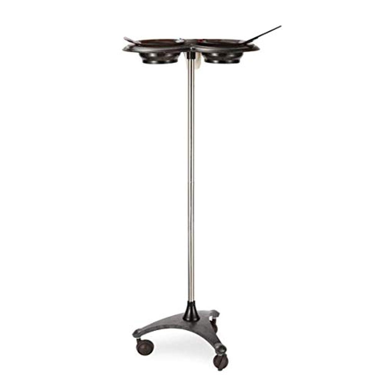 スペード問題特性HIZLJJ 美容ローリングトロリーカートサロントロリー機器モバイルサロンスパサービス楽器理髪ストレージトレイ (Color : Black)