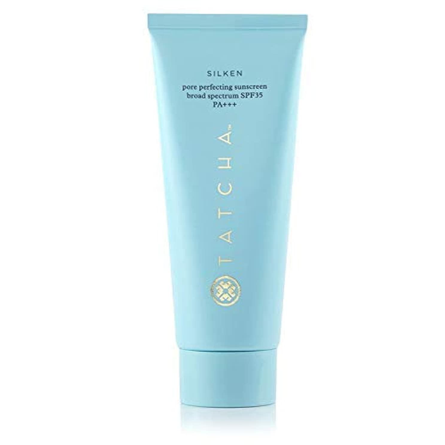 お茶マインドうねるTATCHA SILKEN PORE PERFECTING SUNSCREEN Broad Spectrum SPF35 PA+++ 2 oz/ 59 mLタチャ 日焼け止めクリーム