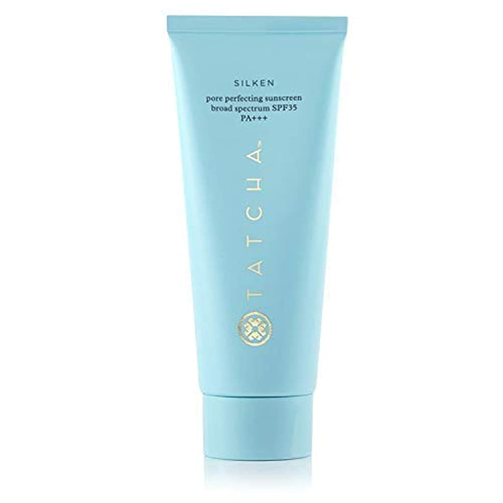 瀬戸際敵スペクトラムTATCHA SILKEN PORE PERFECTING SUNSCREEN Broad Spectrum SPF35 PA+++ 2 oz/ 59 mLタチャ 日焼け止めクリーム