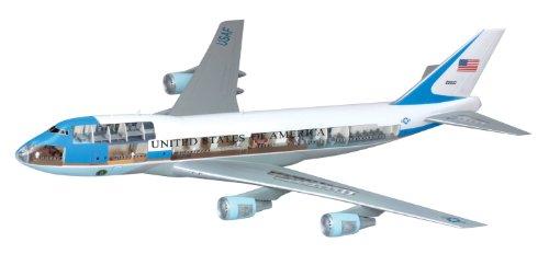 1/144 VC-25 エア フォース ワン (内部再現キット) (プラスチックモデル)