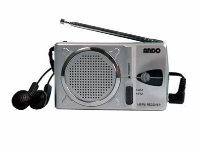 アンドー ポケットラジオ AP6-294