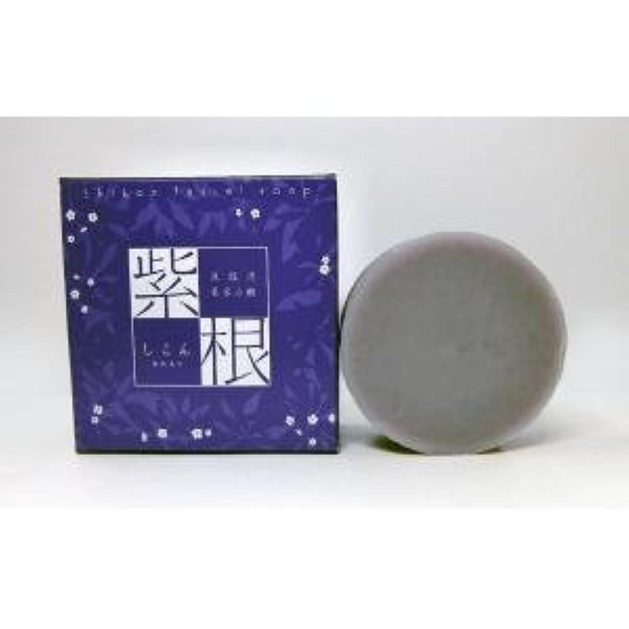 パッチ必需品お手入れ紫根石鹸 100g×5個セット