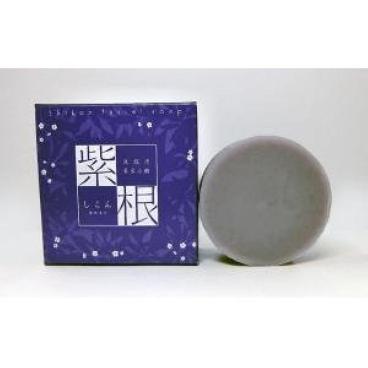 禁輸詳細な紫根石鹸 100g×5個セット
