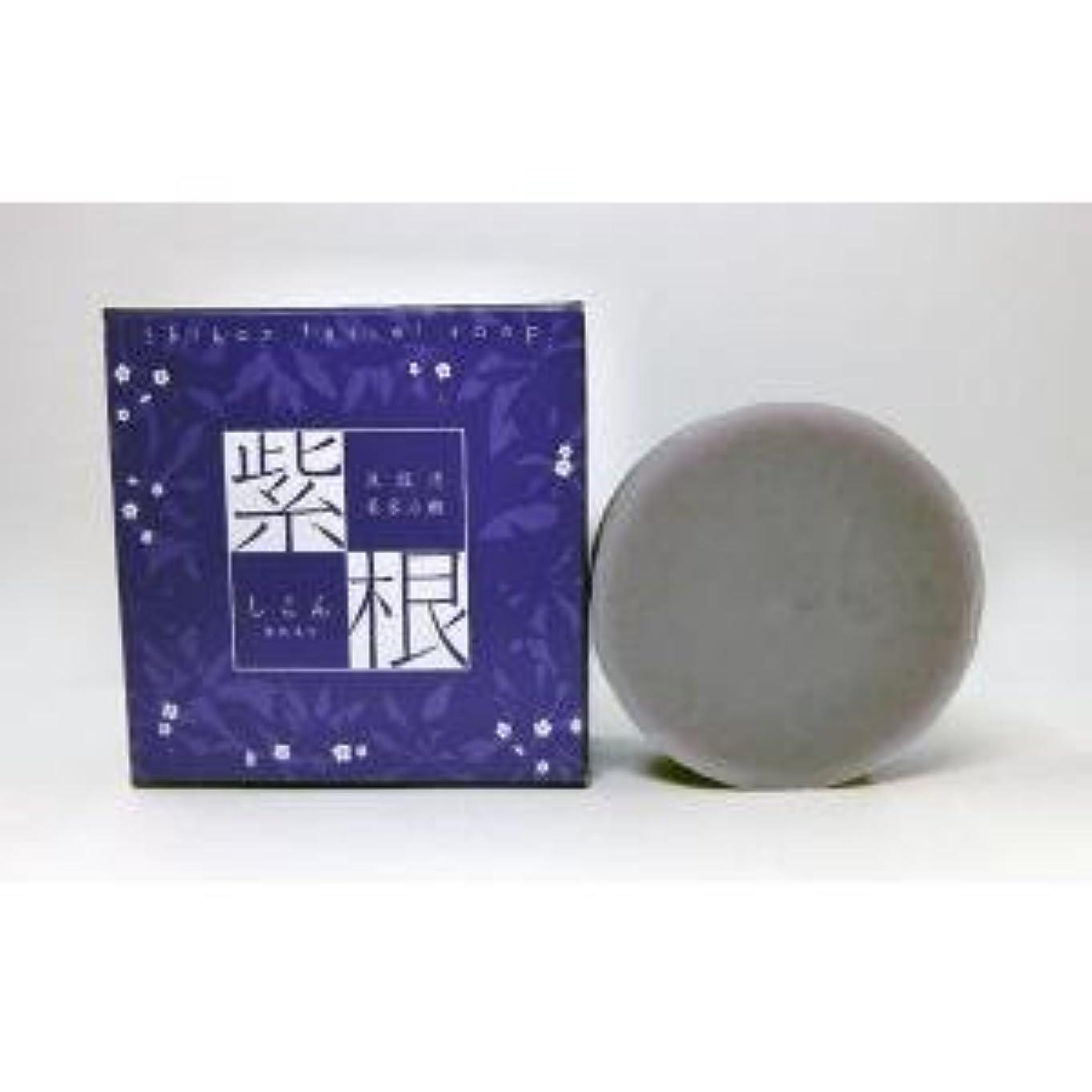 読書をする教室渇き紫根石鹸 100g×5個セット