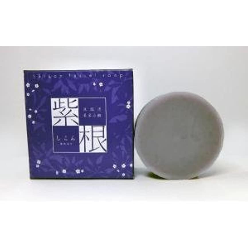 専門判決図書館紫根石鹸 100g×5個セット