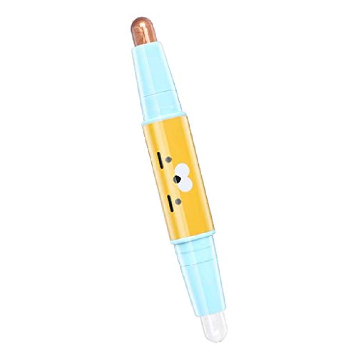 鉛筆司書がんばり続けるT TOOYFUL キラキラ アイシャドウ アイシャドウスティック 両端 メイクアップ 長持ち 防水 全6色 - 01