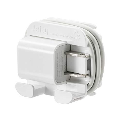 サンワダイレクト ケーブルホルダー Apple純正ACアダプタ & ケーブル収納 スタンド コンパクト 200-CA036