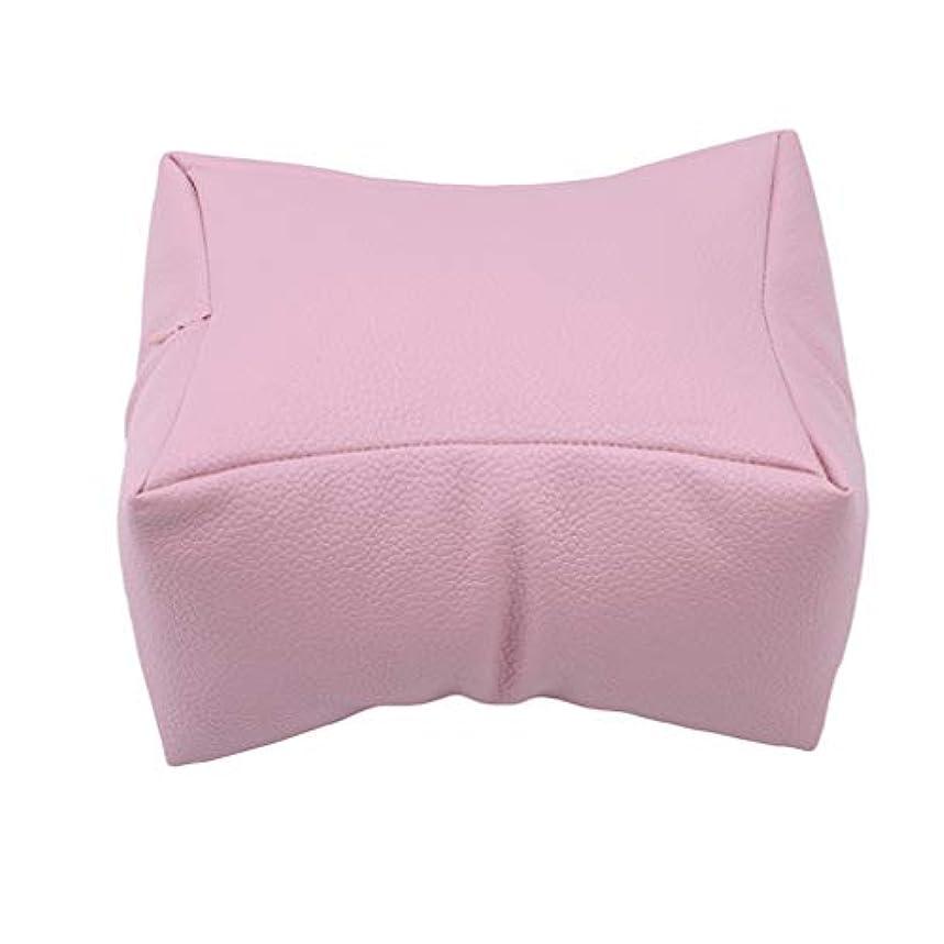 欠乏ビリーヤギバッテリーNoonlity 枕 ハンド枕 腕枕 腕置き 手の枕 柔らかい ジェルネイルまくら 練習用にも,ピンク