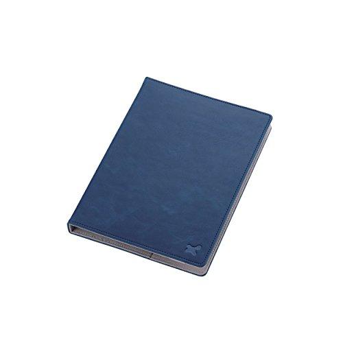 7.0〜8.4インチ汎用タブレットケース(レザータイプ)/ブルー TB-08LCHBU 1個