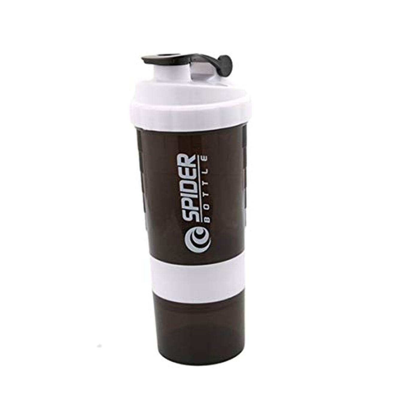 クリーク燃料自治IntercoreyジムプロテインシェーカーMiハンドヘルドスポーツジムプロテインシェーカーミキサーボトル泡立て器ボールシェーカーボトル