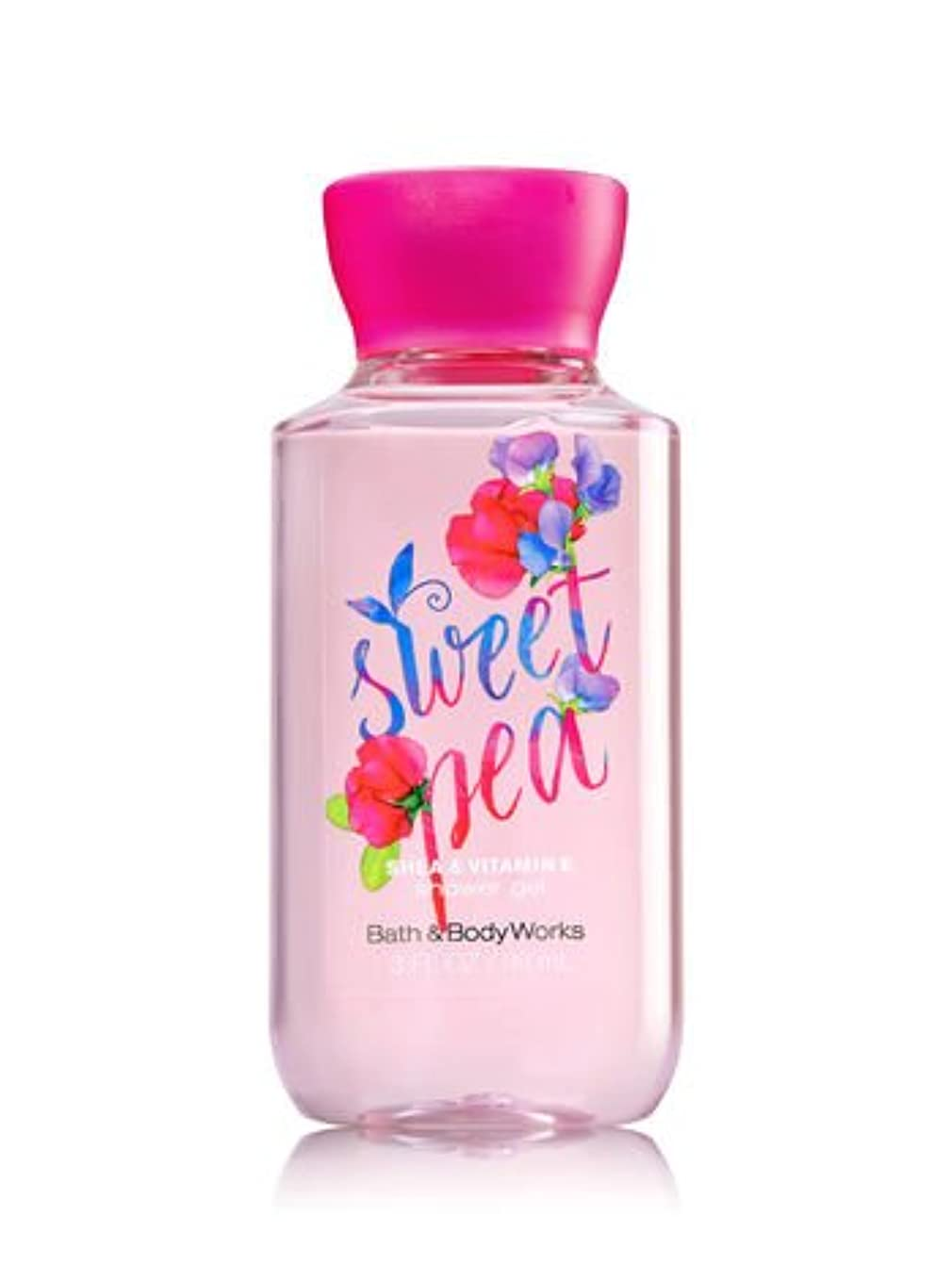 廃止する早熟集めるバス&ボディワークス スイトピーシャワージェル トラベルサイズ Sweet pea shower gel Travel-Size [並行輸入品]
