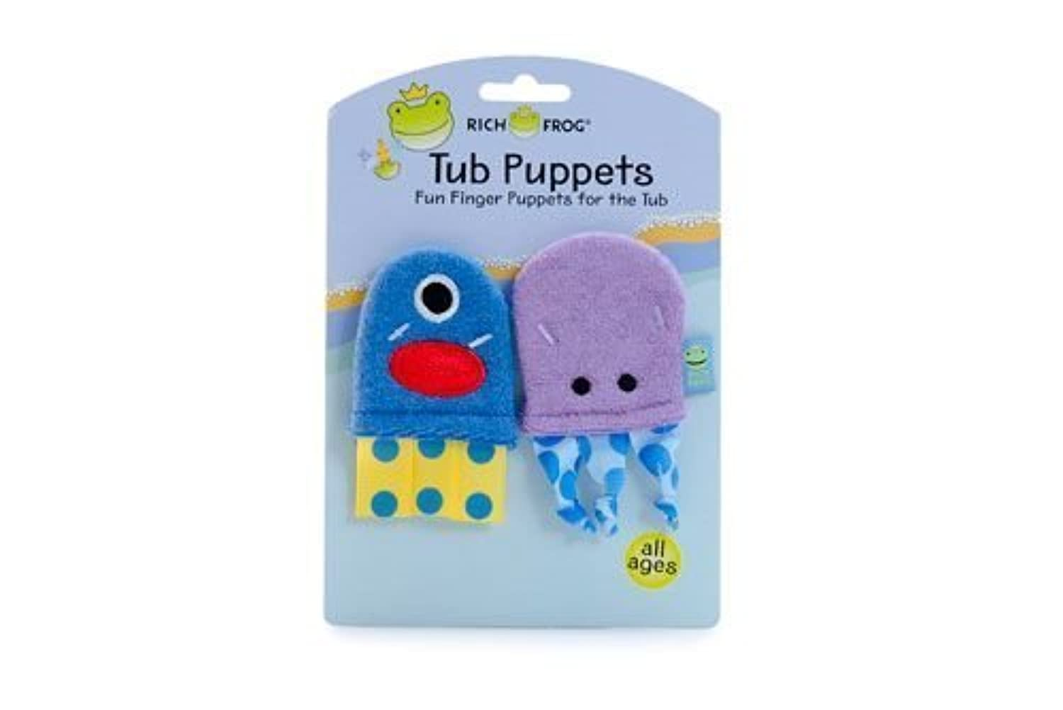 Rich Frog Sea Monsters Tub Puppets by Rich Frog