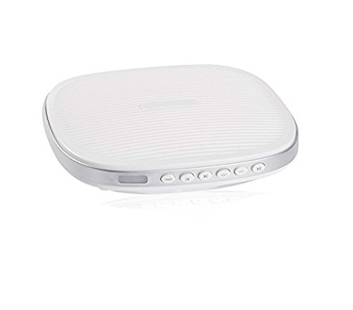 Monmall ホワイトノイズマシン 快眠グッズ 20種のサウンド 音量調整 タイマー付き USB充電 長時間再生 赤ちゃん 大人 旅行 勉強 仕事 昼寝適応