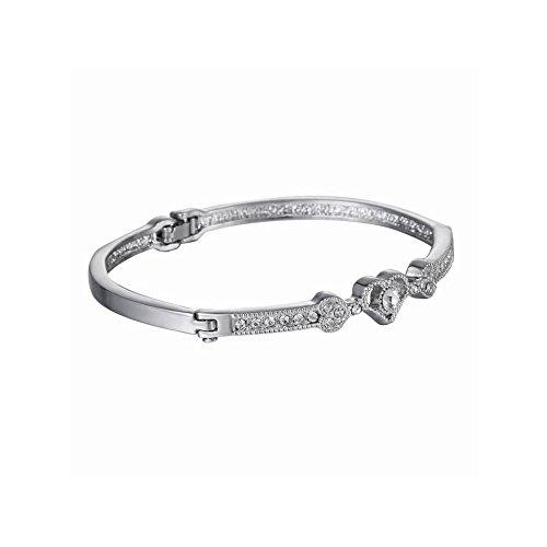[해외]UMS 패션 액세서리 팔찌 오픈 하트 라인 스톤 골드 조정자 여성 여성 능력 매력적인 포장 포함/UMS Fashion Accessories Bracelet Open Heart Rhinestone Gold Adjuster Women`s Women Power Attractive Wrapping