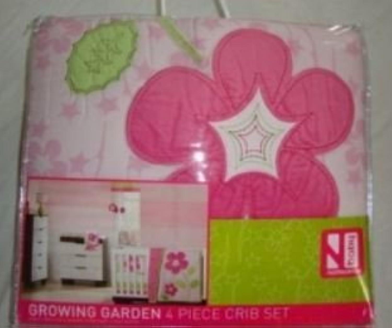 Not Neutral Baby Growing Garden 4 Piece Crib Set by notNeutral