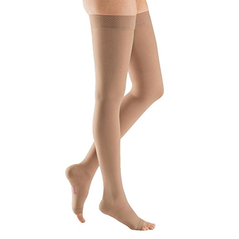 休日にボイラーアームストロングMedi Plus Thigh High 40-50mmHg Open Toe, IV, BGE by Medi