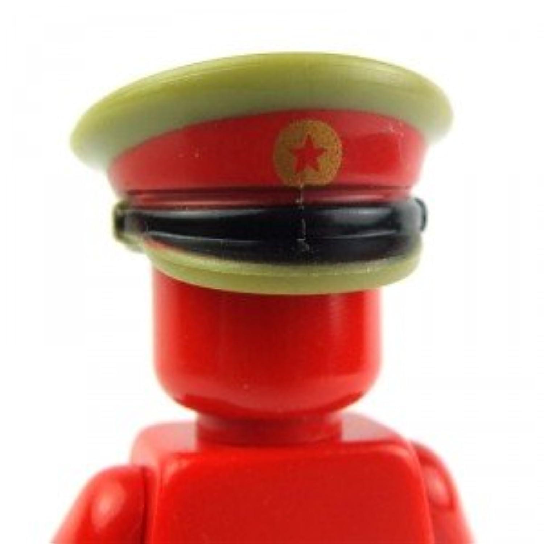 ソ連軍オフィサーキャップ LEGOカスタムパーツ アーミー 装備品 武器 カスタムフィグ