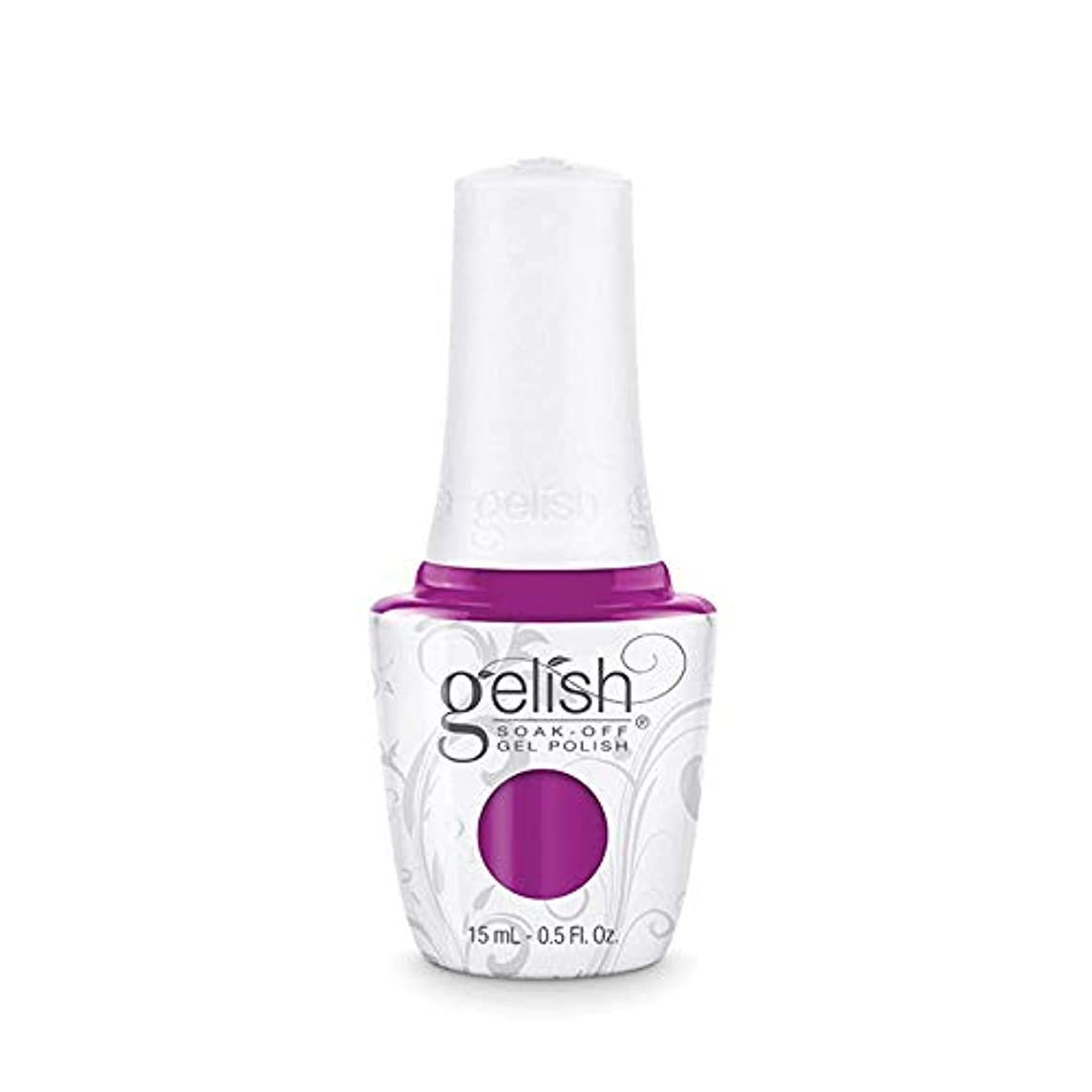 認証記念碑硬化するHarmony Gelish Gel Polish - Tahiti hottie - 0.5oz / 15ml