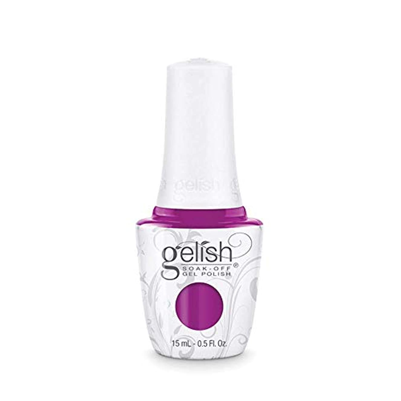 封筒動物足枷Harmony Gelish Gel Polish - Tahiti hottie - 0.5oz / 15ml