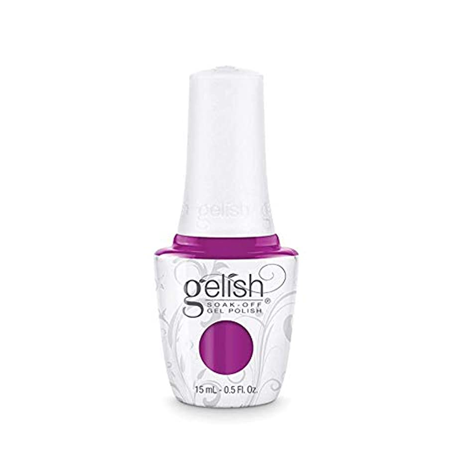 適用済み仕事に行く電報Harmony Gelish Gel Polish - Tahiti hottie - 0.5oz / 15ml