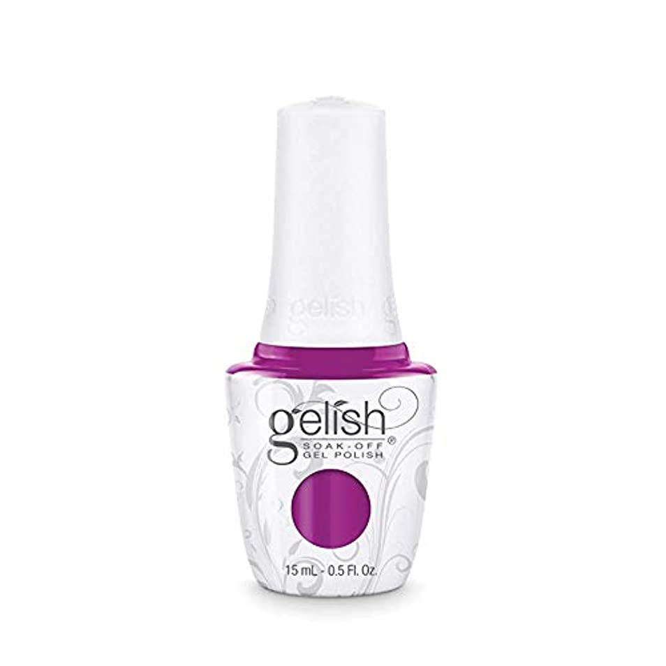 掃除カフェテリアオンHarmony Gelish Gel Polish - Tahiti hottie - 0.5oz / 15ml