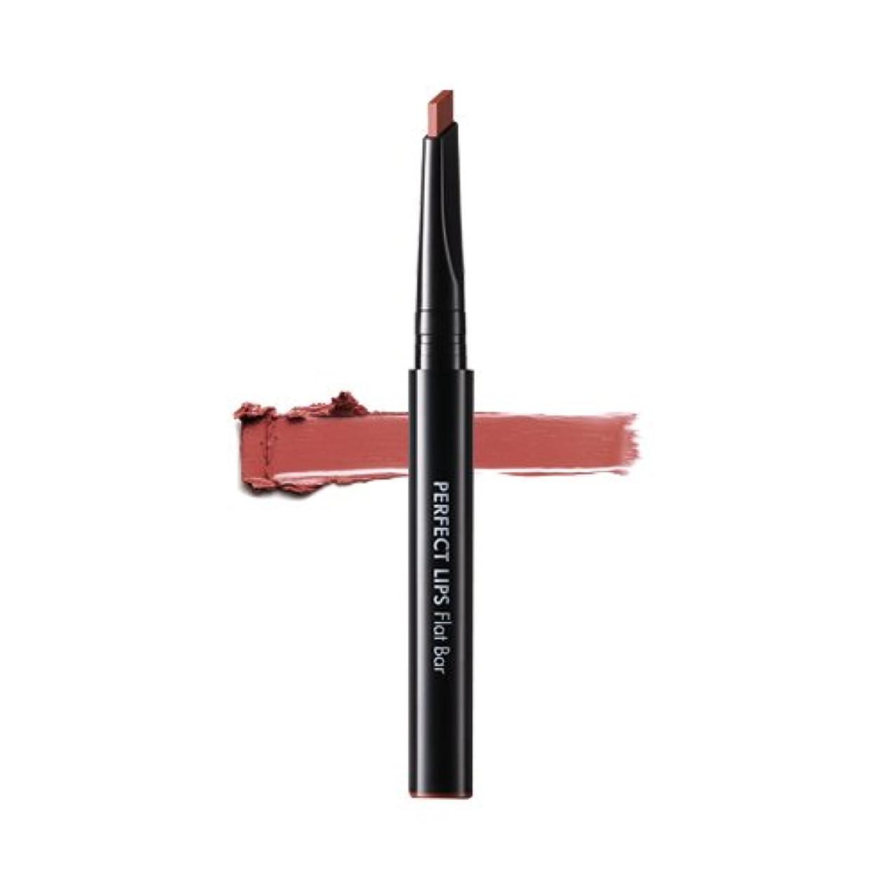 森林密奨励します[New] TONYMOLY Perfect Lips Flat Bar 0.3g/トニーモリー パーフェクト リップス フラット バー 0.3g (#08 Antique Brown) [並行輸入品]