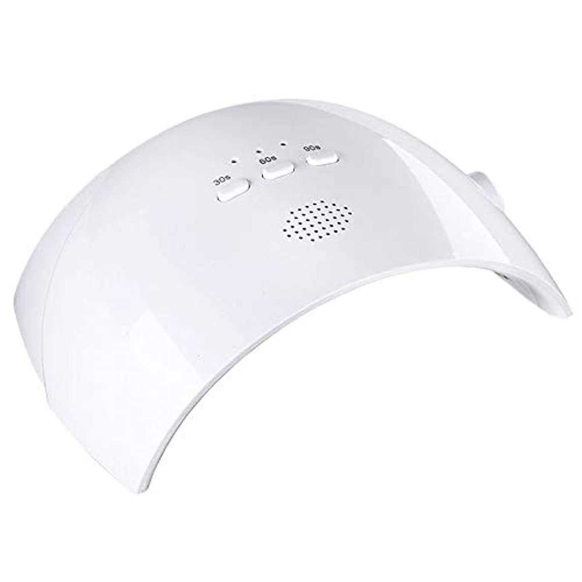 非難する想定する服ネイルライト、3タイマー設定付き36W UV LEDジェルネイルドライヤー - プロフェッショナルジェルネイルポリッシュランプ