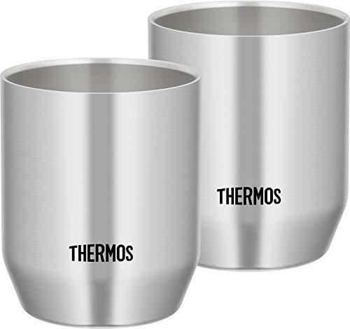 サーモス (THERMOS) 真空断熱カップ ステンレス 360ml JDH-360P S 2個入