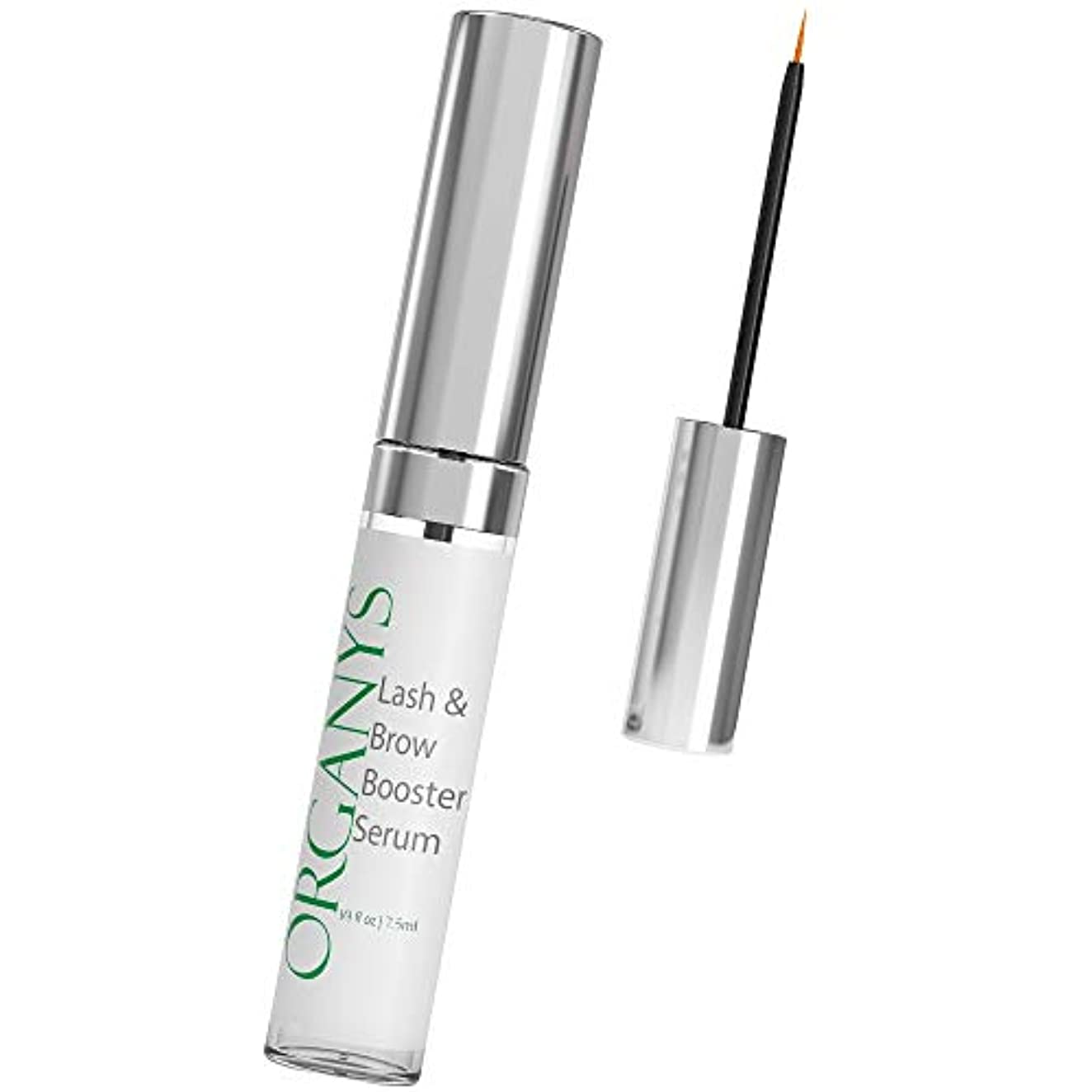 折前肩をすくめるOrganyc Eyelash & Eyebrow Growth Serum (High Potency) Grows Longer, Fuller, Thicker Lashes & Brows in 60 days!...