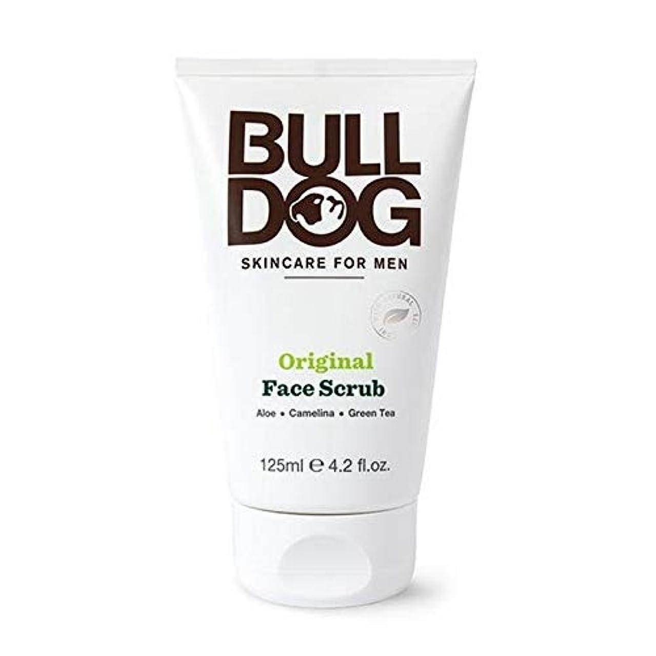 電報赤外線未就学[Bulldog] ブルドッグ、元の顔スクラブ125ミリリットル - Bulldog Original Face Scrub 125ml [並行輸入品]