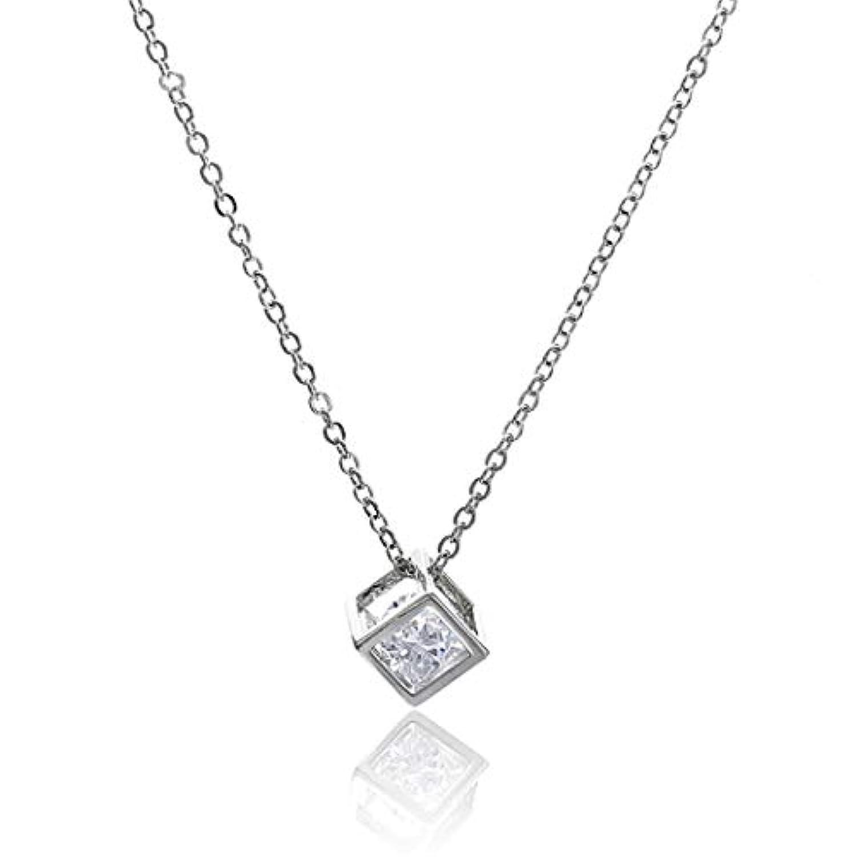 PINKING 鎖骨チェーン ネックレス 調整可能 おしゃれ アクセサリー ペンダント 飾り ファッション 愛 三次元