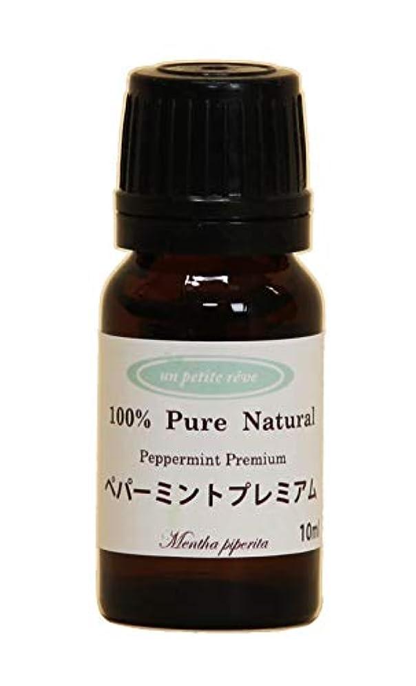 先駆者達成可能不足ペパーミントプレミアム 10ml 100%天然アロマエッセンシャルオイル(精油)