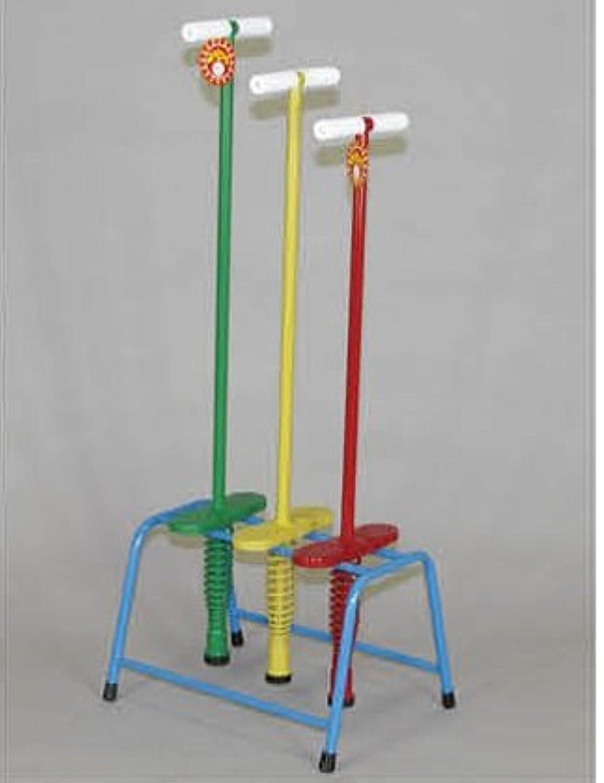 保育学校教材 ホッピング 6台 まとめ買い 赤 Sサイズ(30kgまで) 日本製