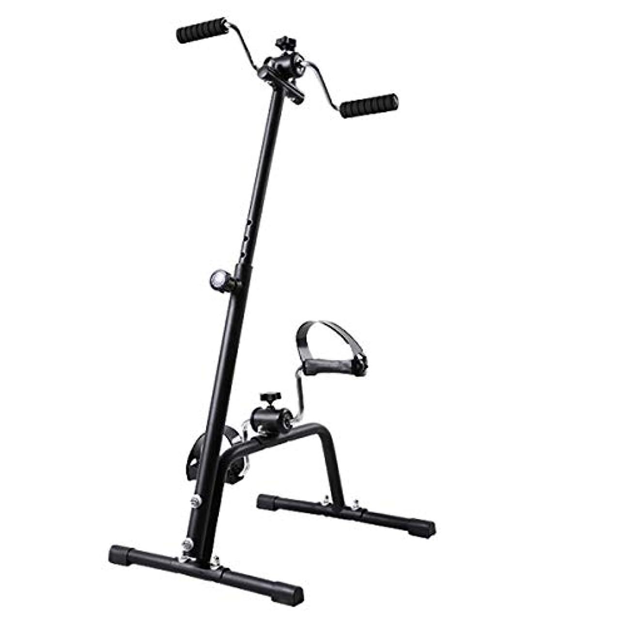 ハイライトジュース呼吸メディカル全身エクササイザー、ホームレッグアームペダルエクササイザー、上肢および下肢のトレーニング機器、ホーム理学療法フィットネスミニバイク,A