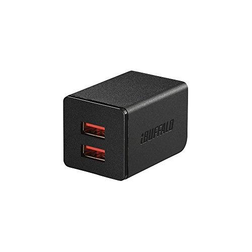 BUFFALO USB充電器 2.4A急...