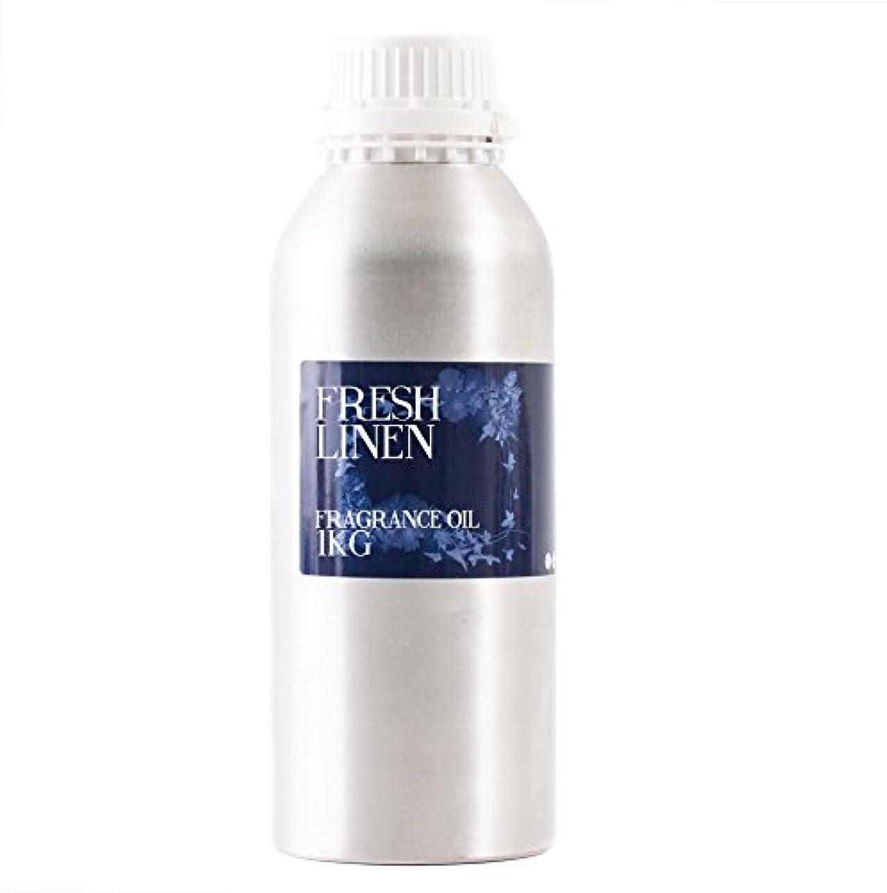 言語原理キャプテンMystic Moments | Fresh Linen Fragrance Oil - 1Kg