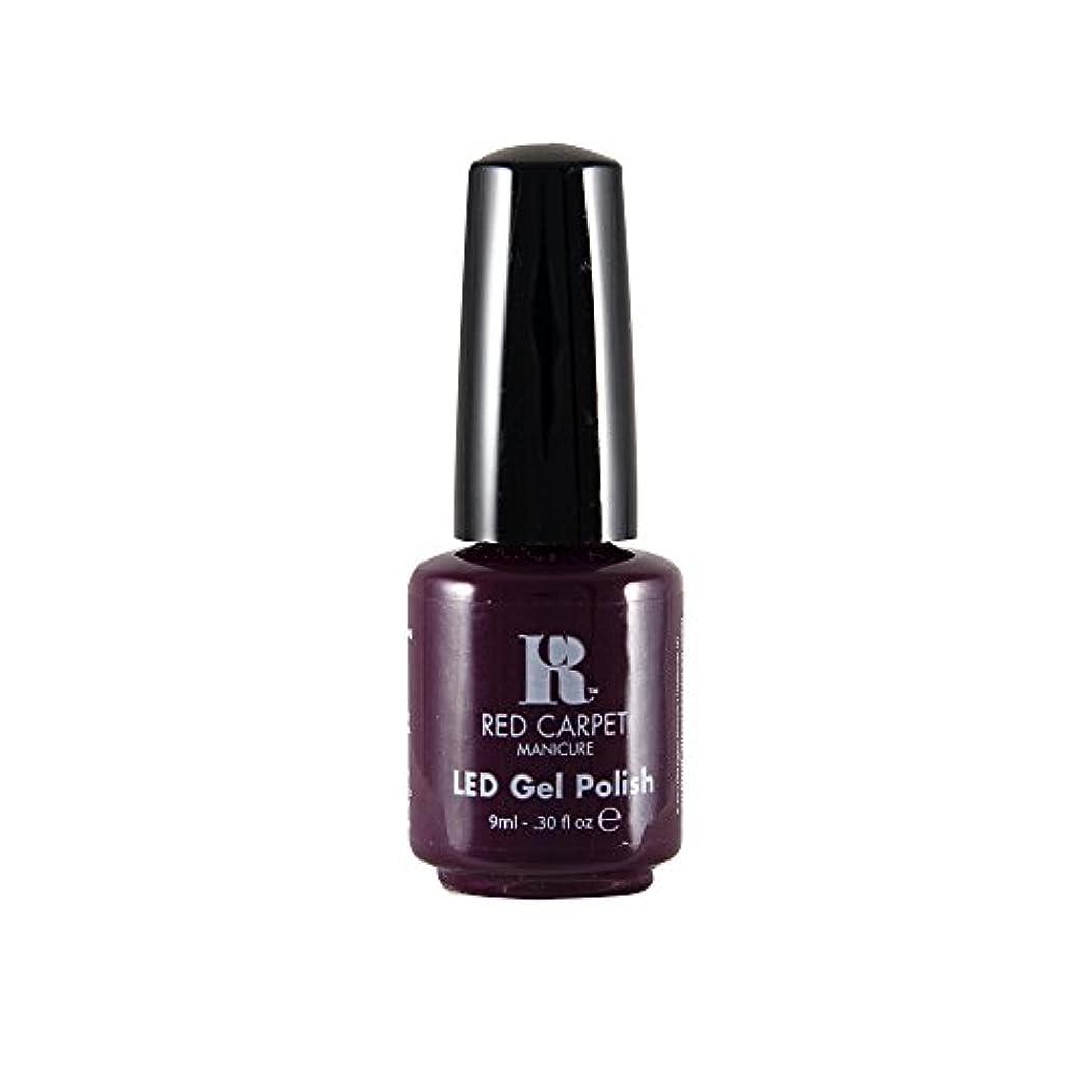 シルクワックス作り上げるRed Carpet Manicure - LED Nail Gel Polish - Thank You, Thank You - 0.3oz / 9ml
