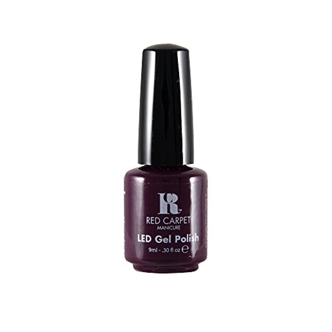 癌目に見える裁判官Red Carpet Manicure - LED Nail Gel Polish - Thank You, Thank You - 0.3oz / 9ml