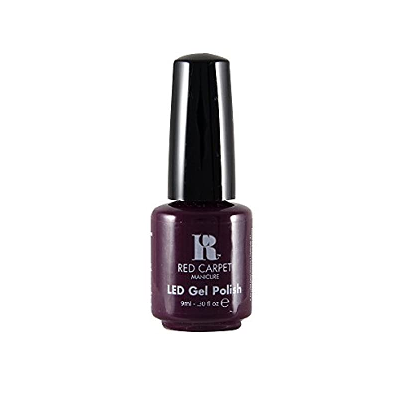 小道買う青写真Red Carpet Manicure - LED Nail Gel Polish - Thank You, Thank You - 0.3oz / 9ml