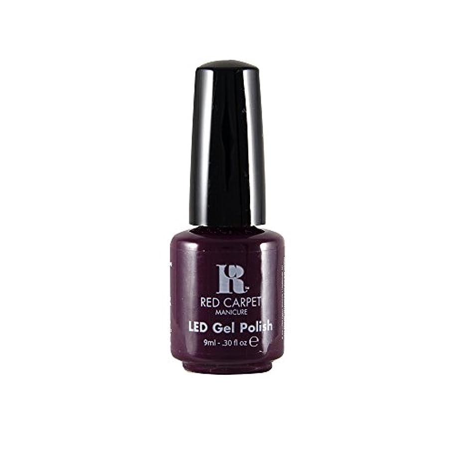嘆くベット毎日Red Carpet Manicure - LED Nail Gel Polish - Thank You, Thank You - 0.3oz / 9ml