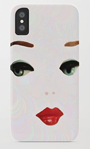 バービー Barbie iPhone 8/8 Plus Xケース society6 (iPhone X, barbie05) [並行輸入品]