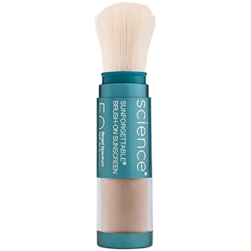 ハドル教室推論Sunforgettable Brush-On Sunscreen SPF 50 - Tan