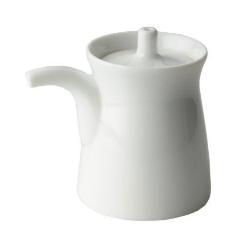白山陶器 G型しょうゆさし 小 白磁...