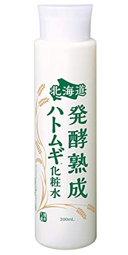 賞賛するコモランマ何か北海道 発酵熟成ハトムギ化粧水 [ 200ml ] エイジングケア (熟成プラセンタ配合) 日本製
