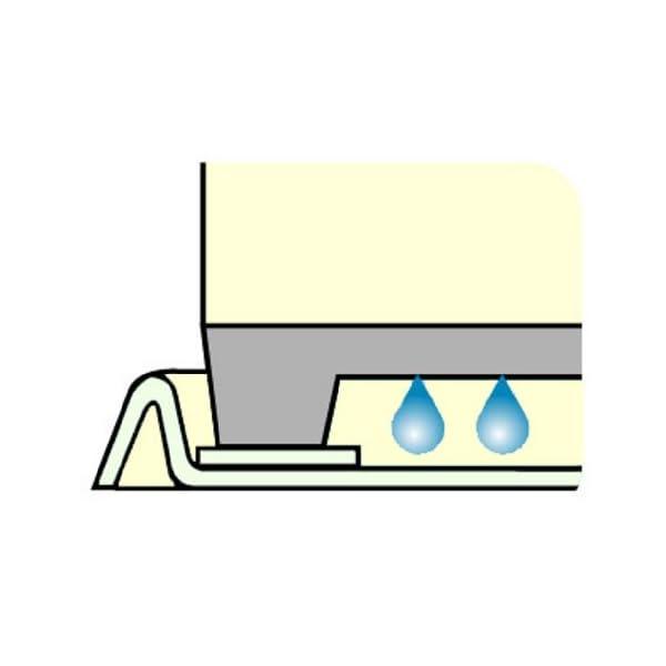 洗濯機トレー 全自動用 アイボリーの紹介画像5