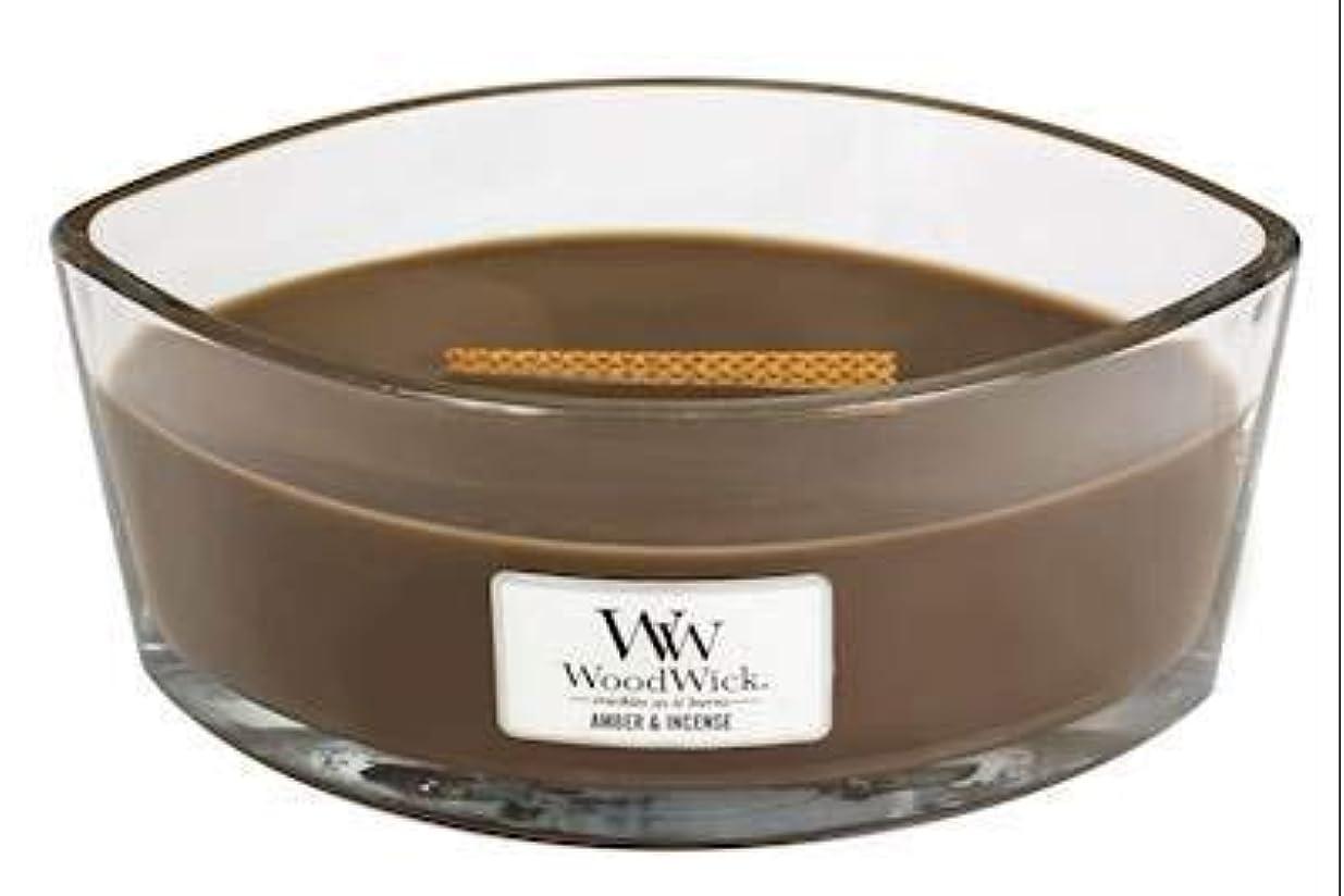 ターミナル見出し褐色Yankee Candle Amber & Incense Ellipse Candle [並行輸入品]