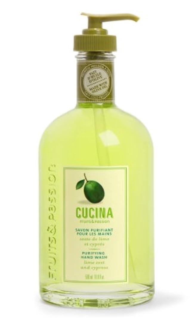 残り火曜日知り合いCucina Purifying Hand Soap, Glass Dispenser Lime Zest 16.9 oz. by Cucina