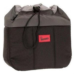 カメラレンズキャップメモリカードのための Crumpler 避難所携帯用ケース(袋) - 黒いグレー - 耐水性 - ナイロン【並行輸入】